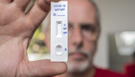 Selbsttest Coronavirus