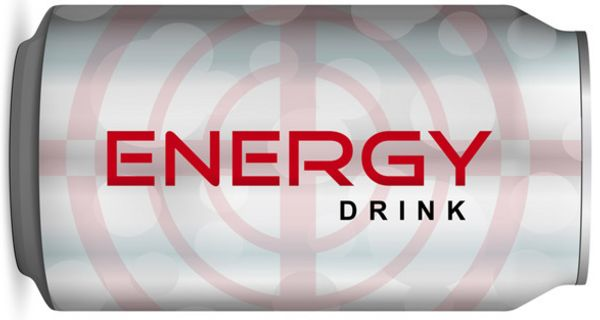 Dose mit Energy-Drink