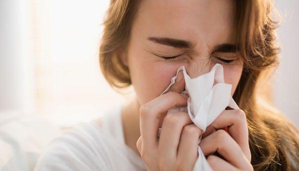 Chronisch verstopfte Nase verändert die Hirnaktivität