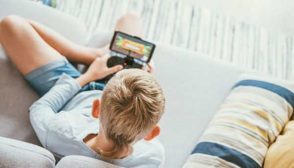 Weniger Depressionen bei Jungen, die Videospiele spielen
