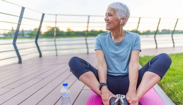 Gesundes Leben hält geistig fit